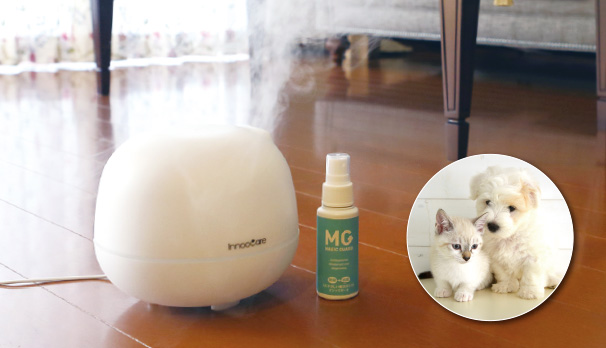 For humidifiers and pets.